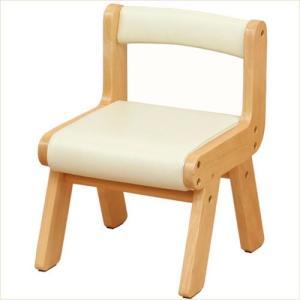 子供椅子 キッズチェア 木製 アイボリー 子供 チェア 001|k-style