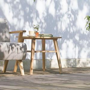 サイドテーブル 木製 ベッドサイド ソファサイド Natural Taste|k-style