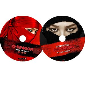 K-POP DVD/G-DRAGON BEST OF BEST PV&TV LIVEセット(2枚)/G-DRAGON GD ジードラゴン DVD