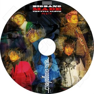 K-POP DVD/BIGBANG 2016 MADE THE FULL ALBUM PV&TV★FXXK It Last Dance Let's Not Fall In Love/ビックバン ジードラゴン GD ソル(テヤン)..