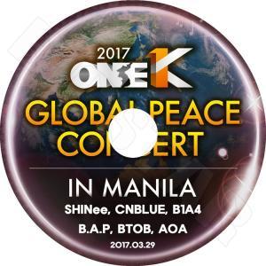 K-POP DVD/2017 ONE K GLOBAL PE...