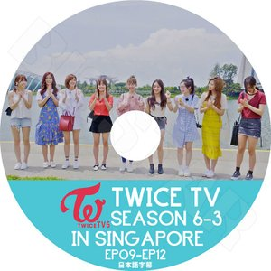 K-POP DVD/TWICE TV SEASON 6-3 ...