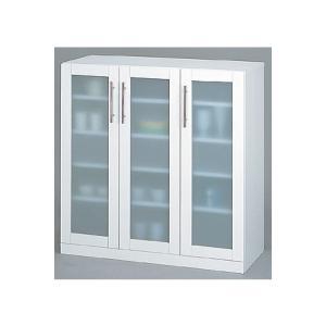食器棚 キッチン収納 台所収納 ホワイト シンプル キッチンボード レンジ台|k-yorozuya