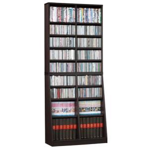 本棚 書棚 文庫本 コミック収納 幅75cm ブラウン ラック 百科事典も|k-yorozuya
