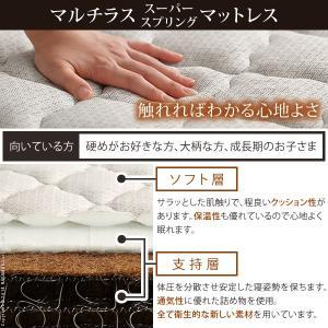 フランスベッド マルチラススーパースプリングマットレス セミダブル マットレスのみ スプリング|k-yorozuya|03