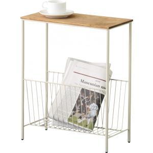 サイドテーブル天然木使用 収納&ディスプレイ|k-yorozuya