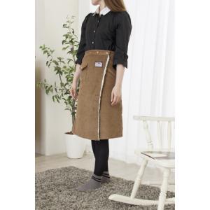 あったか 巻きスカート コーデュロイ ラップウォームスカート bonnie|k-yorozuya