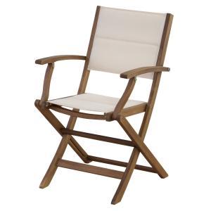 折りたたみ木製チェア 肘掛付 ゆったり バーベキューや海でゆったり座れる椅子 イス|k-yorozuya