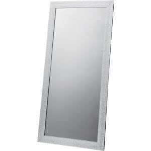 スタンドミラー 鏡 ウォールミラー 姿見 フレーム 杉 天然木 ドア ブラック ゴールド 大型 送料無料 k-yorozuya