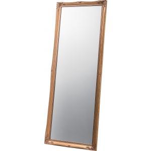 スタンドミラー 鏡 ウォールミラー 姿見 フレーム 杉 天然木 ドア k-yorozuya