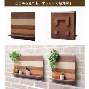 壁掛け ラック 壁面ラック シェルフ 小物置き 北欧 幅30 木製 テイスト 幅32|k-yorozuya|06