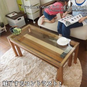 ガラステーブル 2点セット センターテーブル 幅90cm ツインテーブル|k-yorozuya