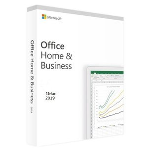 Microsoft Office 2019 Home and Business for Mac オン...