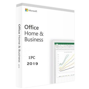 最新 Microsoft Office Home and Business 2019 for 1PC...