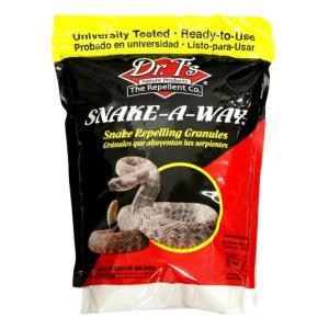 蛇忌避剤 スネークアウェイ 1.8kg【送料無料】嫌な臭いでヘビを追い払う 毒蛇にも効果|ka-dotcom