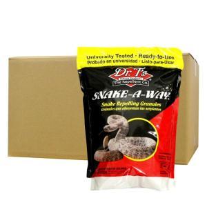 蛇 ヘビ 忌避剤 スネークアウェイ 1.8kg×6袋 ヘビを追い払う アメリカEPA(環境庁)認可 毒蛇にも効果【送料無料】|ka-dotcom