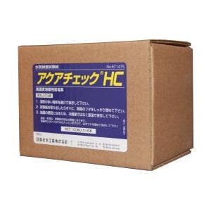 アクアチェックHC 100枚入×6本【お買い得ケース購入!送料無料】 高濃度遊離残留塩素測定|ka-dotcom