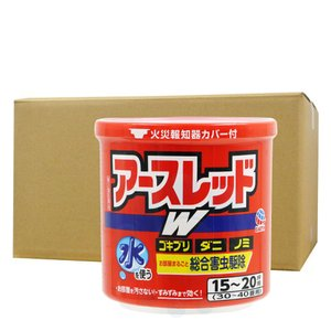 ダニ、ノミ駆除 アースレッドW 50g×10個 30〜40畳用【第2類医薬品】|ka-dotcom