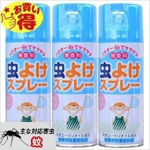 蚊、マダニ対策 L.T 虫よけスプレー 300ml×3本 ノミ、ダニ、ナンキンムシ除けにも|ka-dotcom