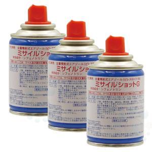 ゴミムシダマシ シミ クモ コクガ チョウバエ駆除 ミサイルショットG 90ml×3本 工場 倉庫 害虫対策|ka-dotcom
