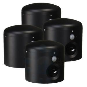 アニマルバリア ブラックミニ 4台セット 超音波で猫を追い払う[野良猫・逃げる・猫対策・退散]【送料無料】|ka-dotcom