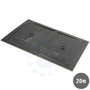 ネズミ捕り 業務用粘着板 プロボードL 両面黒×20枚  ネズミ粘着シート ねずみ駆除 ネズミ退治 耐水紙 裏表ブラック 捕獲率アップ|ka-dotcom