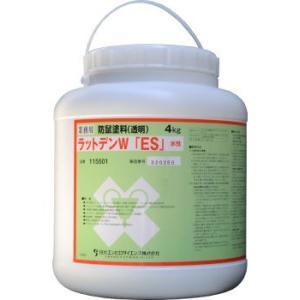 ネズミに電線を齧らせない塗料 業務用防鼠塗料 ラットデンW 水性 4kg 鼠対策 【送料無料】|ka-dotcom