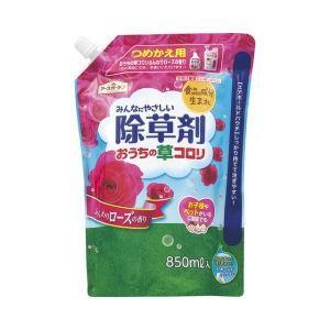 アースガーデン おうちの草コロリ つめかえ 850ml ふんわりローズの香り [非農耕地用] アース製薬|ka-dotcom