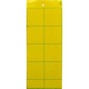 ビニールハウス用捕虫紙虫とりシート・イエロー(10枚)|ka-dotcom