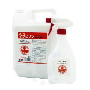 天然植物エキスのネズミ忌避剤 スーパーアフピリン 4L|ka-dotcom