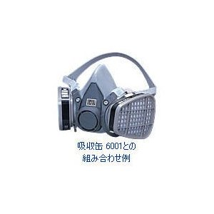 3M 防毒マスク6000シリーズ 半面形面体 6000 Mサイズ [面体のみ]|ka-dotcom