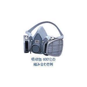 3M 防毒マスク6000シリーズ 半面形面体 6000 Lサイズ [面体のみ]|ka-dotcom