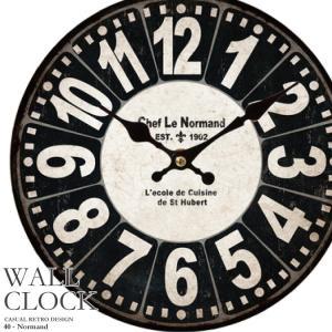 幅34cm 壁掛け時計《フィルム風》レトロ調アンティークデザイン ウォールクロック レトロクロック 丸型 インテリア時計 レッド 木目調 看板風 kaagu-com