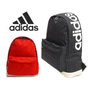 adidas アディダスストライプ柄リュックサック 18L|kaban-aiwa