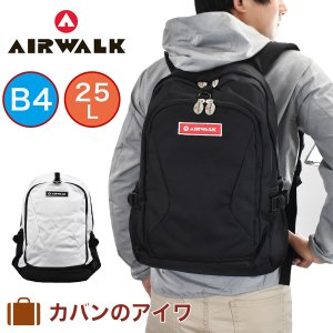 AIR WALKエアウォークレインカバー付きリュックサック|kaban-aiwa