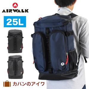 AIR WALK エアウォーク ボックス型リュックサック|kaban-aiwa