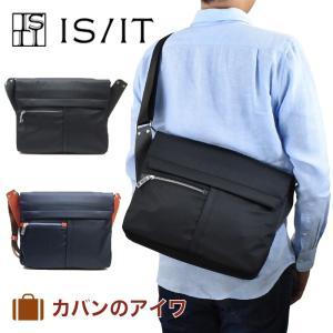 IS/ITソリス・シリーズショルダーバッグA4サイズ対応|kaban-aiwa