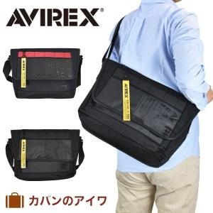 AVIREX アヴィレックス スーパーホーネットかぶせ型ショルダーバッグ