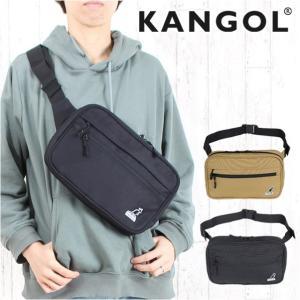 ボディバッグ メンズ ブランド 250-4984 KANGOL カンゴール BARTERシリーズ ウエストポーチ ウエストバッグ レディース おしゃれの画像