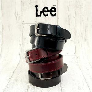 ベルト メンズ おしゃれ/Lee(リー) 牛革 ベルト/0120453/長さカット可能 男性 カジュアル 父の日 プレゼント kabanya