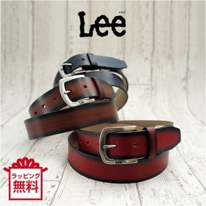 ベルト メンズ カジュアル/Lee(リー) 牛革 グラデーション ベルト/0120455/革 長さカット可能 男性 父の日 プレゼント kabanya