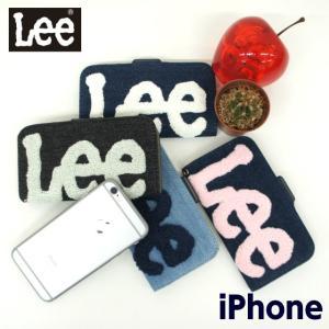 携帯ケース 手帳型 iPhone8 iPhone7 iPhone6 iPhone6s おしゃれ Lee リー 手帳型 スマホケース サガラ刺繍 0520396|kabanya