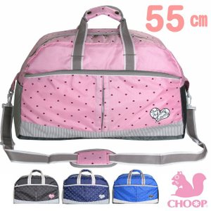 修学旅行 バッグ 女子 CHOOP シュープ ハートシュープ ボストンバッグ 55cm 1231ne 小学校 ボストンバック 女の子|kabanya