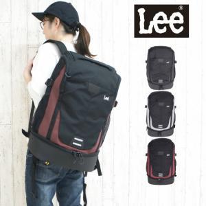lee リュック メンズ Lee リー tidy デイパック 35L レインカバー付き 320-16300 通学 通勤 男子 女子|kabanya