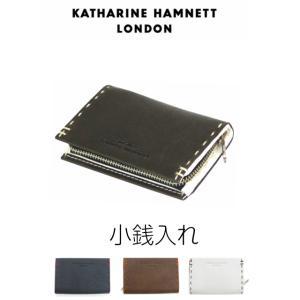 コインケース メンズ/KATHARINE HAMNETT キャサリンハムネット 小銭入れ/490-51901/男性 プレゼント 革|kabanya