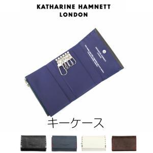 キーホルダー メンズ/KATHARINE HAMNETT キャサリンハムネット キーケース/490-51910/男性 鍵入れ|kabanya