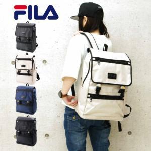 FILA フィラ プリモシリーズ USBポート付き フラップ リュック リュックサック デイパック ...
