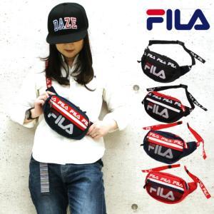 1f4472ff7518 ウエストポーチ メンズ スポーツ FILA フィラ Nephilim ウエストバッグ 7617 ボディバッグ レディース