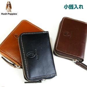小銭入れ/Hush Puppies ハッシュパピー マゴシリーズ コインケース/hp0342/小銭いれ ラウンドファスナー 父の日 プレゼント|kabanya