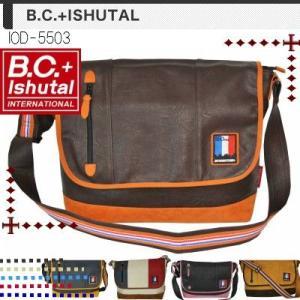 ビーシーイシュタル/B.C.+ISHUTAL ショルダーバッグ /メッセンジャーバッグ  (iod-5503)|kabanya
